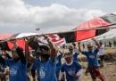 Le foto del festival di aquiloni a Bali