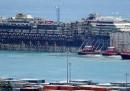 Costa Concordia, le foto a Genova