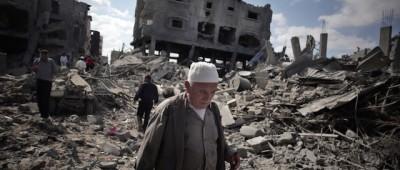Cosa resta dei posti bombardati a Gaza