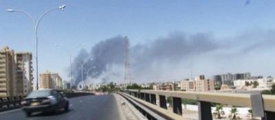 L'attacco all'aeroporto di Tripoli