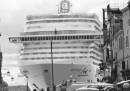 Le grandi navi a Venezia viste da Gianni Berengo Gardin