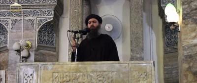 La prima apparizione in video del capo dell'ISIS