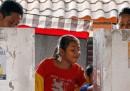 Si vota in Indonesia