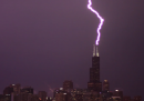 Tempesta a Chicago, in timelapse