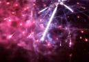 I fuochi d'artificio del 4 luglio, visti da un drone