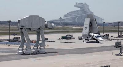 Star Wars VII all'aeroporto di Francoforte