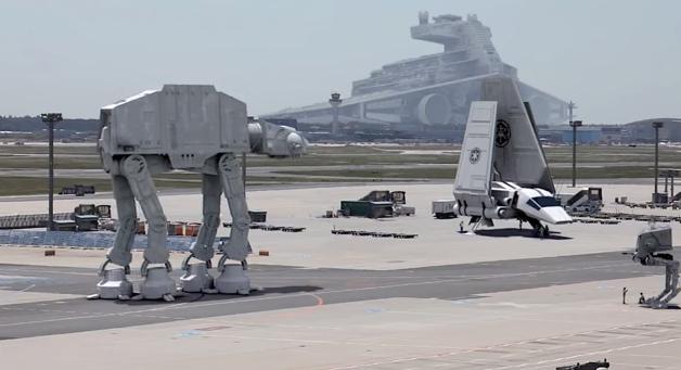Star Wars VII all'aeroporto di Francoforte - Il Post
