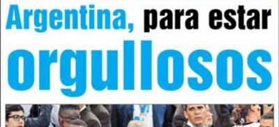 Le prime pagine in Germania e in Argentina