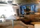 Le immagini dell'interno della Concordia