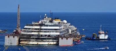 Come sposteranno la Costa Concordia