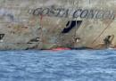 Le foto della Costa Concordia emersa
