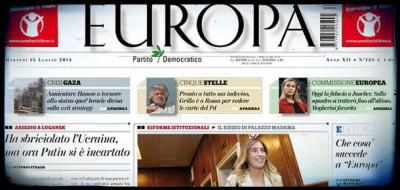 "Cosa succede a ""Europa"""