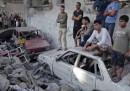 Un altro giorno di attacchi a Gaza