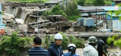 Le foto del tifone Neoguri
