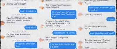 Gli incontri online durante la guerra a Gaza