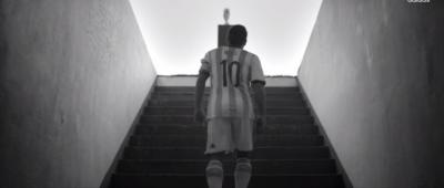Il video di incoraggiamento di Adidas per Messi (con Messi)