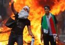 Le foto degli scontri a Parigi, su Gaza