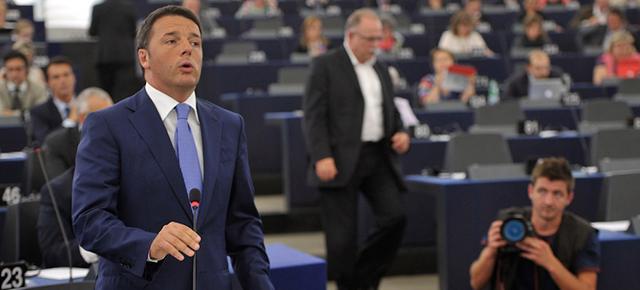Il discorso di renzi al parlamento europeo il post for Sito parlamento italiano