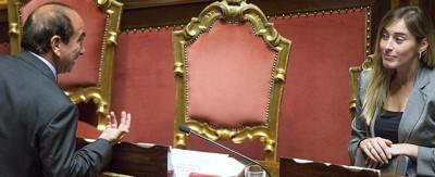 Le foto di oggi in Senato