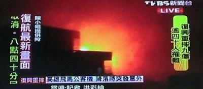 Un aereo è caduto a Taiwan