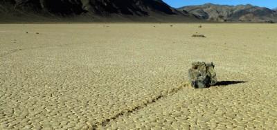 Il mistero (risolto) delle rocce che si muovono da sole
