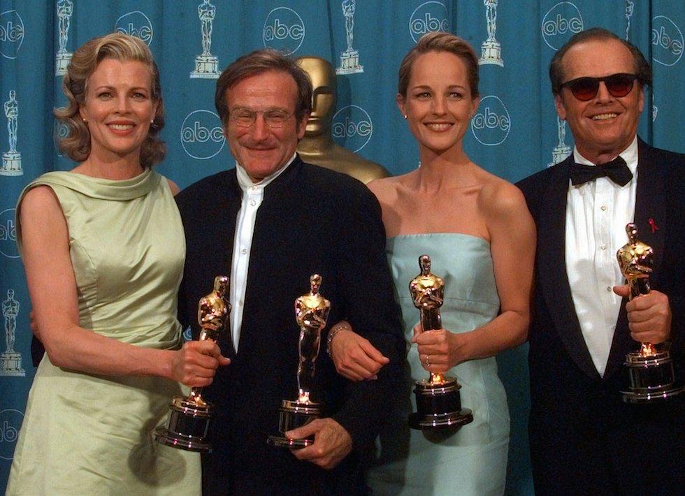 La morte di robin williams il post for Oscar vinti da italiani