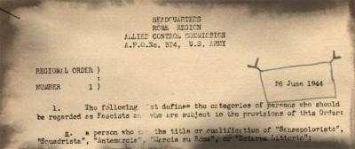 Chi era un fascista, nel 1944