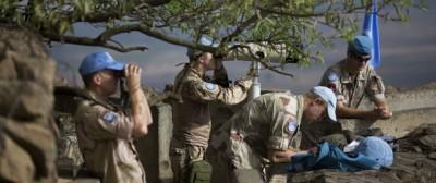 I caschi blu sotto assedio in Siria