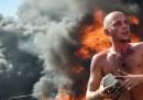 Gli scontri in Piazza Indipendenza a Kiev
