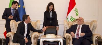 Le foto di Matteo Renzi in Iraq