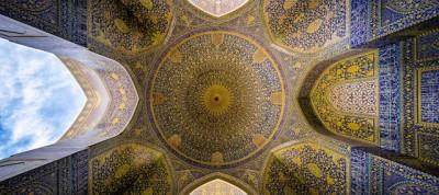 Le moschee colorate dell'Iran