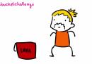 Lava bucket challenge