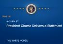Il discorso di Obama in diretta