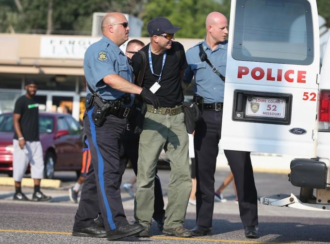 Scott Olson arresto