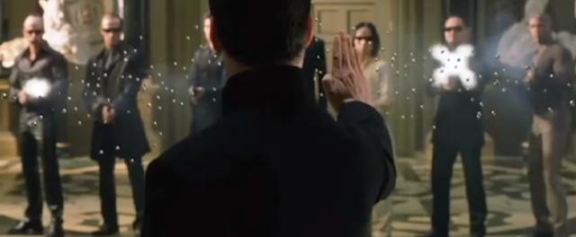 Matrix doppiato a 8 bit