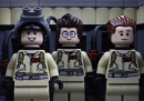 Ghostbusters in stop-motion, fatto con i Lego