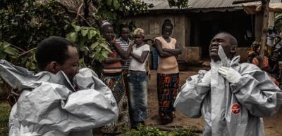 Immagini dall'epidemia di Ebola, in Sierra Leone