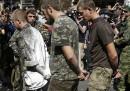 Le due parate per la festa dell'indipendenza ucraina