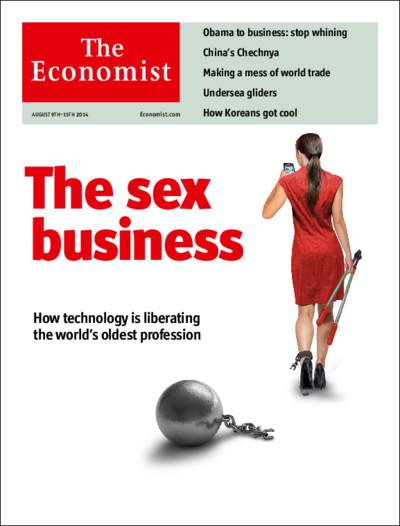La prostituzione? E' solo business: la copertina choc dell'Economist