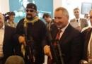 Le foto di Steven Seagal a un evento dell'industria delle armi in Russia
