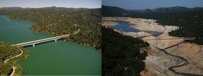La grande siccità in California