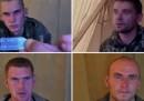 I dieci soldati russi catturati in Ucraina