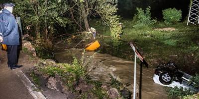 I video e le foto dell'alluvione a Refrontolo