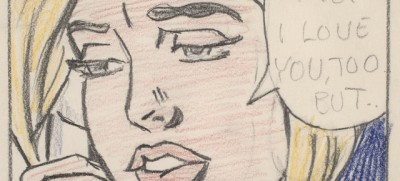 I disegni di Roy Lichtenstein a Torino