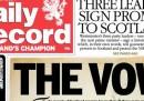 Il giuramento sulla Scozia