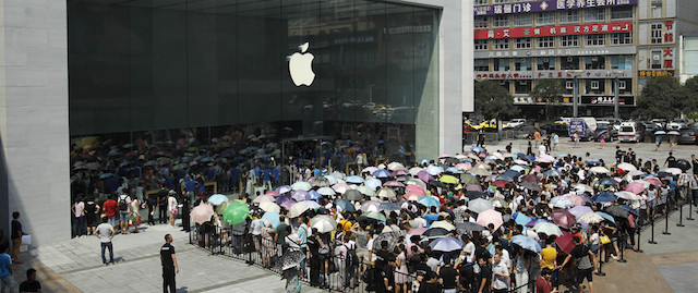 Chongqing's First Apple Direct-Sale Store Opening
