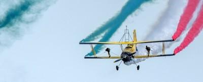 Le foto della fiera aerea a Sliac, in Slovacchia