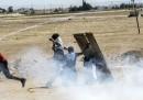 Le foto degli scontri al confine turco