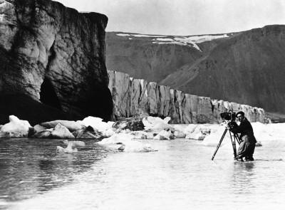 Fotografare il ghiacciaio