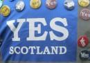 """Il sondaggio che dà avanti i """"sì"""" in Scozia"""